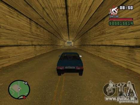 Todas Ruas v3.0 (San Fierro) pour GTA San Andreas deuxième écran