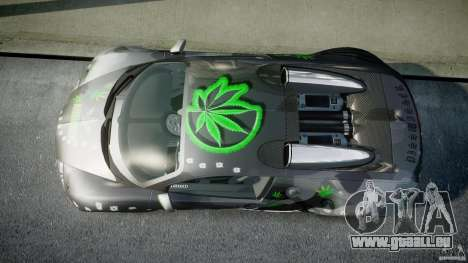 Bugatti Veyron 16.4 v1.0 new skin pour GTA 4 est un droit