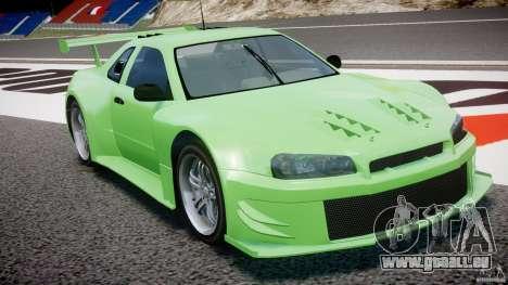 Nissan Skyline R34 v1.0 für GTA 4 Seitenansicht