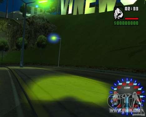 Neue Effekte für GTA San Andreas siebten Screenshot