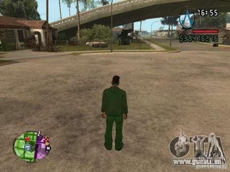 Asssassin Creed Style pour GTA San Andreas deuxième écran
