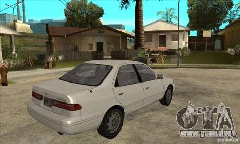 Toyota Camry 2.2 LE 1997 pour GTA San Andreas vue de droite