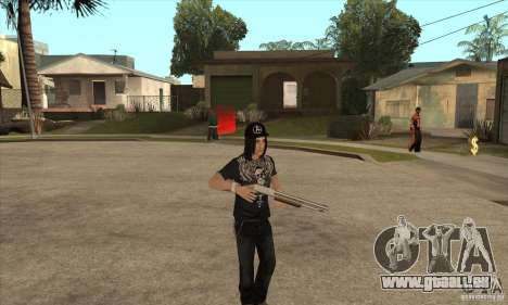 Criss Angel Skin für GTA San Andreas dritten Screenshot