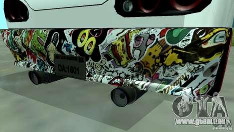 Elegy Drift Masters Final pour GTA San Andreas sur la vue arrière gauche