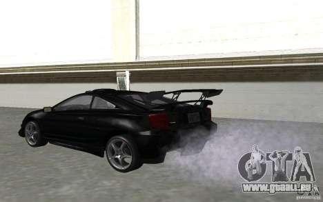 Toyota Celica pour GTA San Andreas vue de côté