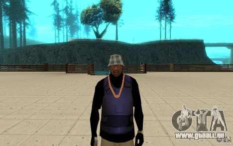 Bronik peau 3 pour GTA San Andreas troisième écran