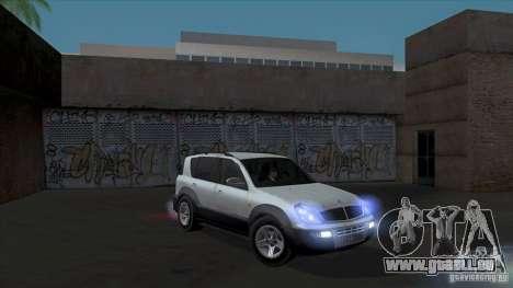 SsangYong Rexton 2005 für GTA San Andreas Räder