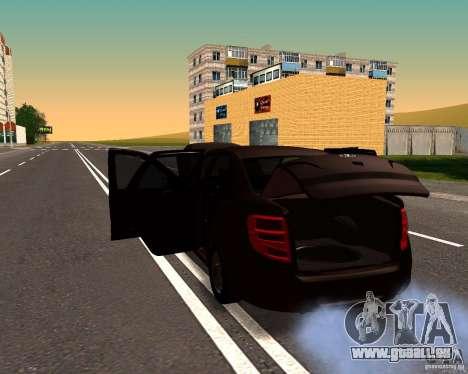 VAZ-2190-Drain für GTA San Andreas linke Ansicht