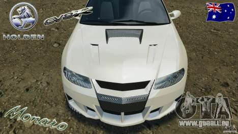 Holden Monaro CV8-R pour GTA 4 Salon