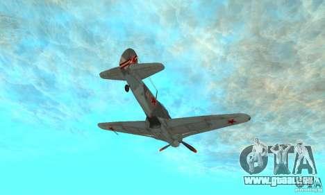 Die Jak-9 in der Lackierung, Sewastopol für GTA San Andreas Seitenansicht