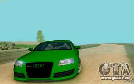 Audi RS6 OTIS pour GTA San Andreas