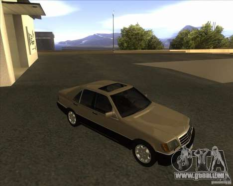 Mercedes Benz 400 SE W140 (Wheels style 2) pour GTA San Andreas
