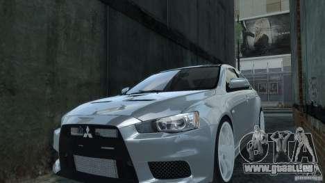 Mitsubishi Lancer EVO X für GTA 4 rechte Ansicht