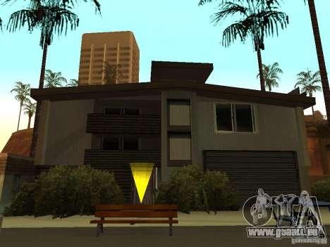 La maison modifiée sur la plage de Santa Maria 2 pour GTA San Andreas