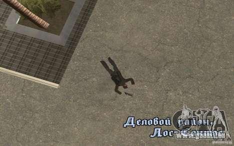 Unique animation of GTA IV V3.0 für GTA San Andreas siebten Screenshot
