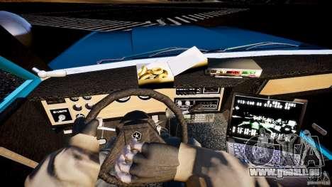 Dodge Diplomat 1983 Police v1.0 für GTA 4 Rückansicht