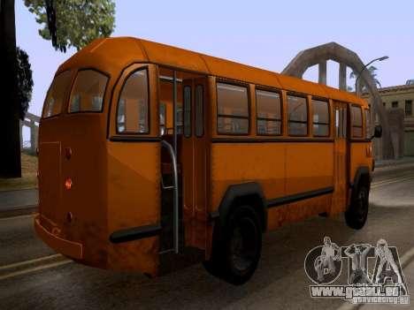 LIAZ 158 pour GTA San Andreas vue intérieure