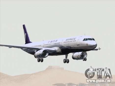 Airbus A321 Air Macau für GTA San Andreas Räder