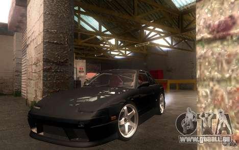 Nissan Silvia S13 Onevia für GTA San Andreas linke Ansicht