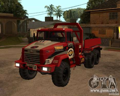 KrAZ-6322-Testversion für GTA San Andreas