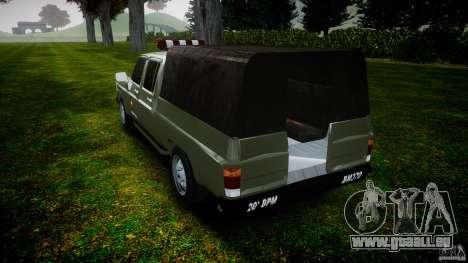 Chevrolet D20 Brigada Militar RS für GTA 4 Seitenansicht