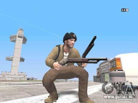HQ Weapons pack V2.0 für GTA San Andreas dritten Screenshot