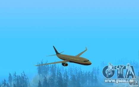 Boeing 737-800 pour GTA San Andreas