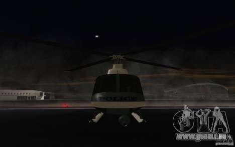 GTA IV Police Maverick für GTA San Andreas linke Ansicht