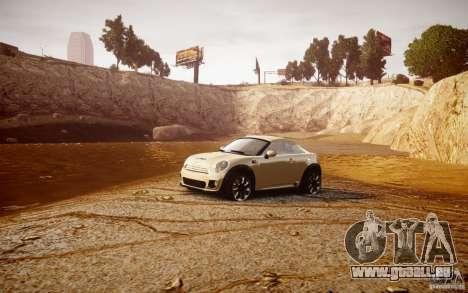 Mini Coupe Concept v0.5 pour GTA 4 est une vue de l'intérieur