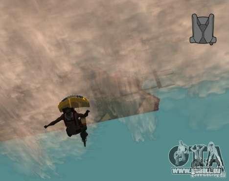 Chute sans fin pour GTA San Andreas deuxième écran