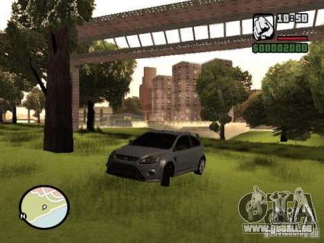Ford Focus RS 2009 pour GTA San Andreas