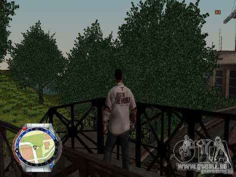CM PUNK 2011 attaer pour GTA San Andreas quatrième écran