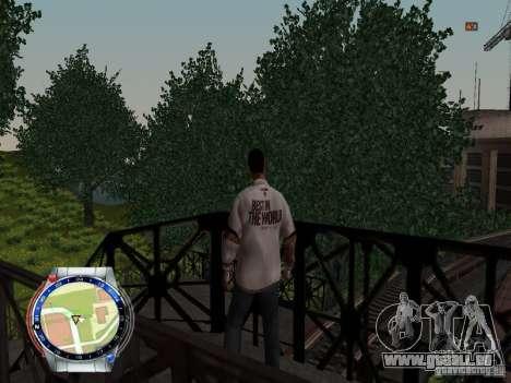 CM PUNK 2011 attaer für GTA San Andreas fünften Screenshot