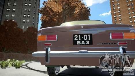 VAZ 2101 Stock pour GTA 4 Vue arrière de la gauche