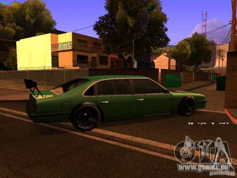 Emperor GT pour GTA San Andreas vue intérieure