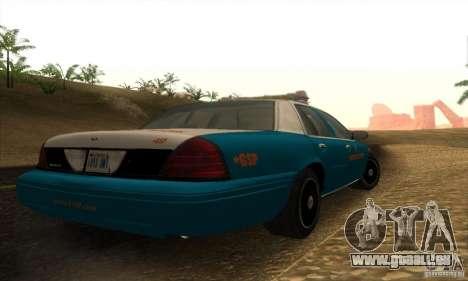 Ford Crown Victoria Georgia Police pour GTA San Andreas laissé vue