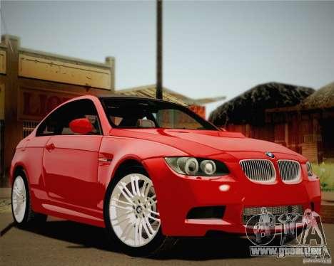 BMW M3 E92 v2.0 pour GTA San Andreas