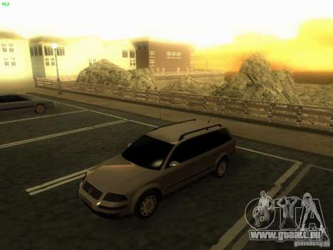 Vw Passat B5.5 Wagon 1.9 TDi für GTA San Andreas