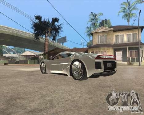 Saleen S5S Raptor pour GTA San Andreas laissé vue