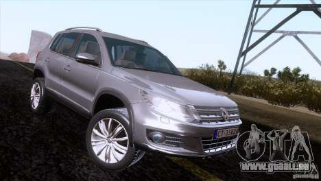 Volkswagen Tiguan 2012 pour GTA San Andreas vue de droite