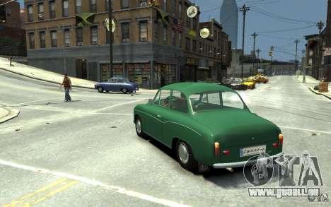 FSM Syrena 105 für GTA 4 hinten links Ansicht