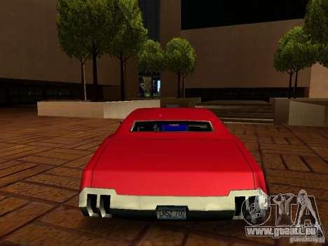 Charger Sabre für GTA San Andreas linke Ansicht