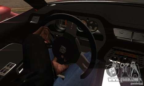 Dodge Challenger SRT8 pour GTA San Andreas vue de droite