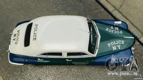 Packard Eight Police 1948 pour GTA 4 est un droit