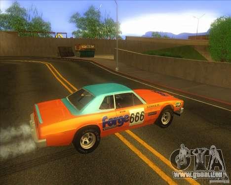 Jupiter Eagleray MK5 pour GTA San Andreas vue arrière
