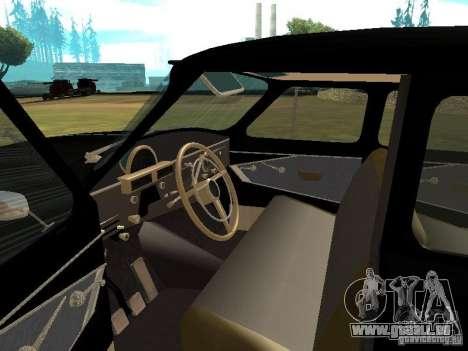 GAZ-21r pour GTA San Andreas vue de droite