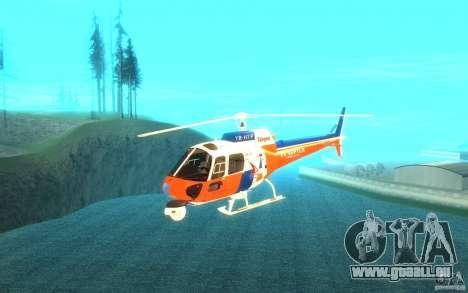 AS-350 TV pour GTA San Andreas