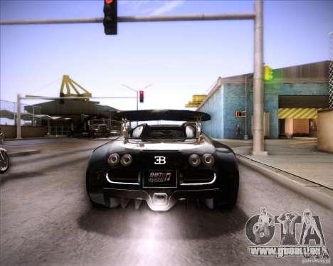 Bugatti Veyron Super Sport pour GTA San Andreas salon