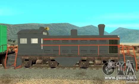 Lokomotive für GTA San Andreas linke Ansicht