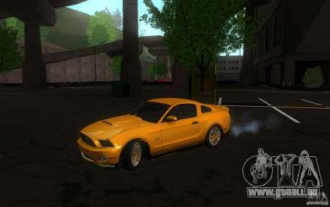 Ford Mustang GT V6 2011 pour GTA San Andreas laissé vue